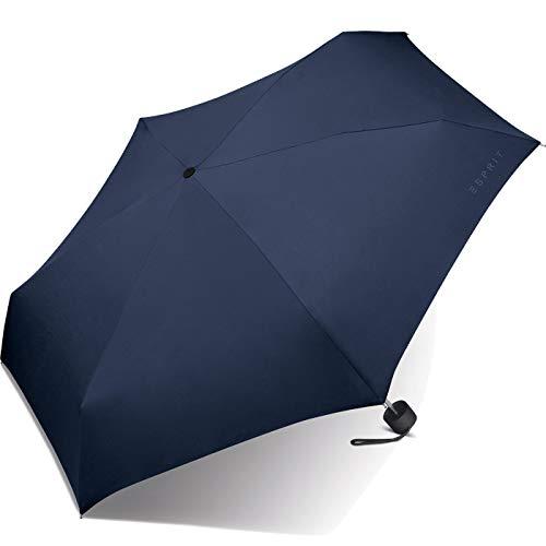 Esprit Petito sailor blue 50527 Regenschirm Taschenschirm Dunkelblau