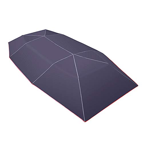 LPL Coche Sombra Sombra Paraguas Cubierta Tienda Tienda Tienda UV Proteger Impermeable 4x2.1m (Color : BL)
