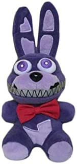 FAVOTOY Plush Toys Five Nights at Freddy's Sister Location Freddy Bear Bonnie Foxy Baby Ballora Clown Plush Stuffed Toys Doll Collectible Gift for Kids Children Birthday-1Pcs (Bonnie The Rabbit)