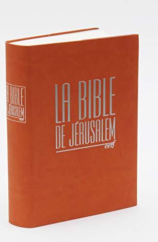 La Bible de Jérusalem compacte intégrale fauve