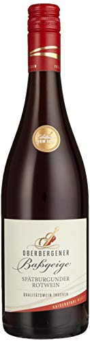 Oberbergener Baßgeige Spätburgunder Rotwein QbA trocken (6 x 0.75 l)