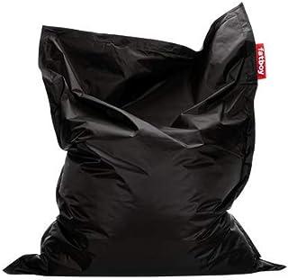 Fatboy® The Original Pouf Poire Bean Bag/Coussin/Fauteuil/canapé d'intérieur XXL | Noir | 180 x 140 cm