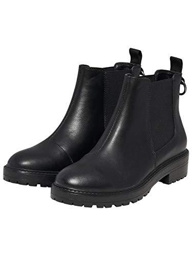 ONLY, Damen Stiefel & Stiefeletten *, Schwarz - schwarz - Größe: 39 EU