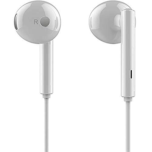 Honor AM115 Half in-Ear Earphones with mic (White)