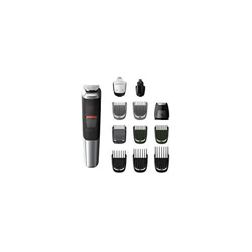 Philips MG5740 15 - Recortadora todo en uno 12 en 1, para barba, pequeños detalles, vello, nariz y orejas, cortapelos, depiladora corporal cara, cuerpo, cabeza