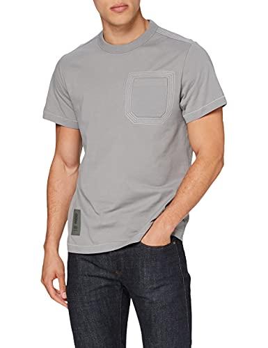 G-STAR RAW D19856 Camiseta, Charcoal 336-942, M para Hombre