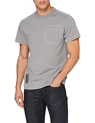 G-STAR RAW D19856 T-Shirt, Carbone 336-942, M Uomo