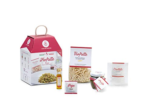 TROFIETTE LIGURI My Cooking Box x2 Porzioni - Per una serata tra amici, una cena romantica o come idea regalo originale! Resta a casa con My Cooking Box!