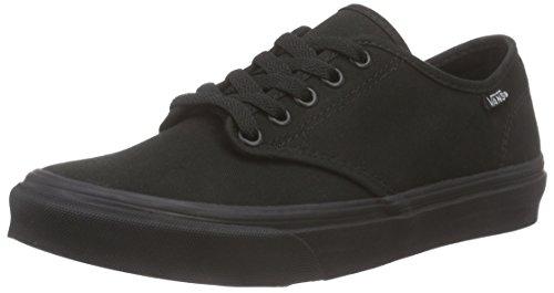 Vans Damen Camden Stripe Classic Sneaker, Schwarz (Canvas), 40 EU