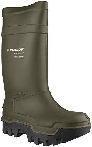 Dunlop Protective Footwear Purofort Thermo+ full safety Unisex-Erwachsene Gummistiefel, Grün 43 EU