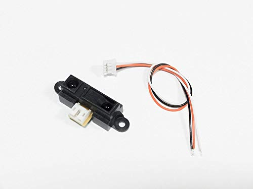 UIOTEC GP2Y0A21YK0F Sharp IR Analog Distance Sensor 10-80cm + Cable, for Arduino Compatible*