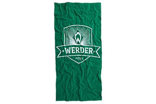 Werder Bremen Wappen Badetuch 90 x 180 cm (one Size, grün)