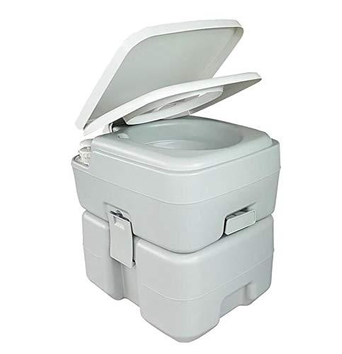 GW 20L Inodoro Portátil para Camping 125KG WC Portátil para Camping con Extraíble WC Portatil para Ancianos Niños Baño Móvil