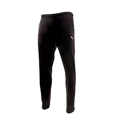 PUMA Valencia CF Temporada 2020/21-Training Pants with Zipped Pockets a Pantalón, Unisex, Blanco Negro, M