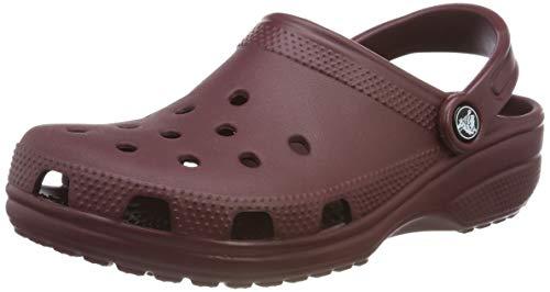 Crocs Classic, Sabot Unisex Adulto, Rosso (Burgundy), 37/38 EU