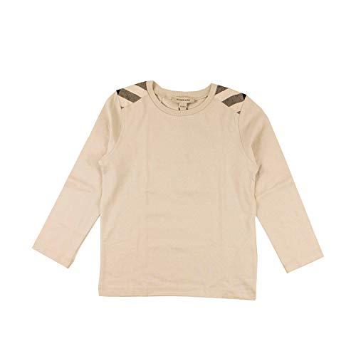 BURBERRY Langarmshirt mit Schultereinsätzen - Sand, Größe:4 Jahre / 104