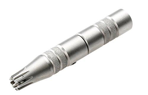 REMOS Nasenhaarschneider aus rostfreiem Edelstahl - Braucht keine Batterien - Schnell & Sicher - Lange Lebensdauer