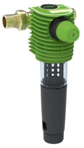 Grünbeck 101535 - Filtro de agua para retrolavado BOXER RDX (DN 32, 1 1/4', para filtración de agua potable, incluye accesorios), multicolor