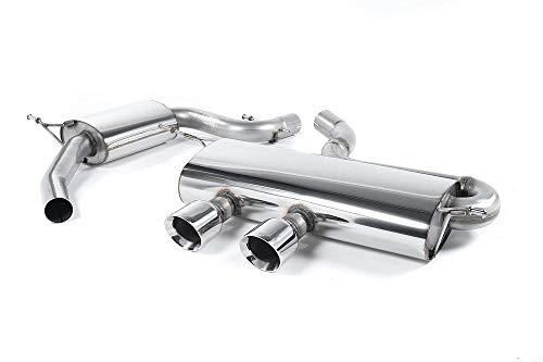 Sport Auspuff Milltek SSXVW169 Anlage ab KAT | DPF (TÜV) Kompatibel zu: Golf GTI (147 kW /200 PS) | HSN: 0603 | TSN: ADF | Golf V GTI (1K) 5-Türer Schrägheck DSG