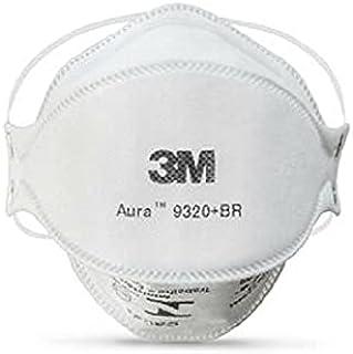 Máscaras 3M Aura 9320 N95/PFF2 S/válvula (10 Unidades)
