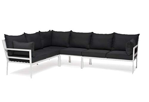 Sol 72 Outdoor Stylish And Modern Tallnäs And 6 Seater Corner Sofa Set