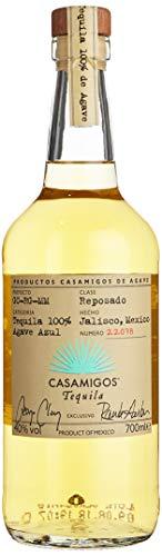 Casamigos Reposado Tequila, Premium Tequila aus 100% Agave (1 x 0.7 l)
