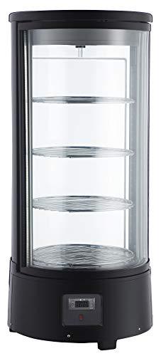 Dynamic24 - Vitrina de refrigeración (72 L, redonda)