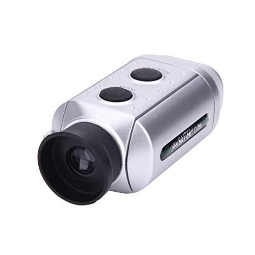Golf laser-afstandsmeter 7Xdigital Afstand Meter Telescope UV-bescherming 2 Modes GREEN/ALGEMEEN MODE Instrument Hunting Verrekijker,Silver