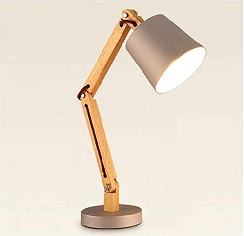 CMMT Lámpara de Mesa Lámpara de Escritorio de diseño Lámpara de Lectura Lámpara de Estudio Lámpara de Trabajo Lámpara de Oficina, Oro, A