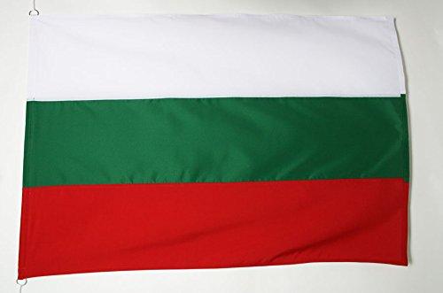 AZ FLAG Flagge BULGARIEN 150x100cm Tergal - BULGARISCHE Fahne 100 x 150 cm Aussenverwendung - flaggen Top Qualität