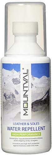 Mountval Water Repellent Leather & Soles – Produit Soin et Nettoyant pour Cuir & Semelle – Transparant 100 ml