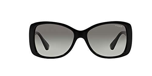 Vogue Eyewear Damen VO2843S Sonnenbrille, Schwarz (Black W44/11), One size (Herstellergröße: 56)