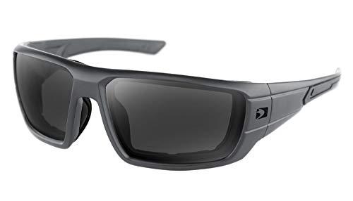 Bobster Gafas de sol Mission (Gris, OSFM)