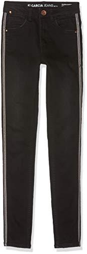 Garcia Kids Mädchen GS920724 Jeans, Schwarz (Rinsed 3293), (Herstellergröße: 152)