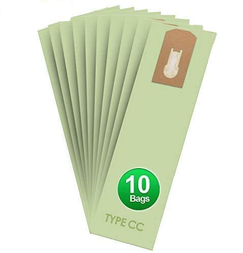 AQUA GREEN Replacement Vacuum Bags for Oreck XL Type CC Upright Vacuum Cleaner Bags (10 Pack)