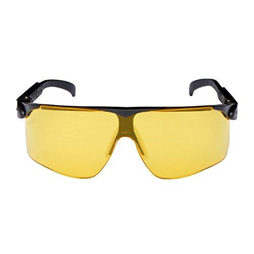 3M Maxim veiligheidsbril Maxim2S, DX/UV, PC, geel getint, asferische ruiten