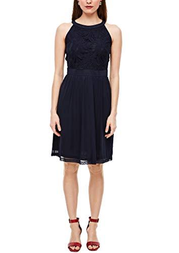 s.Oliver Damen 120.12.003.20.200.2038328 Kleid für besondere Anlässe, Navy, 44