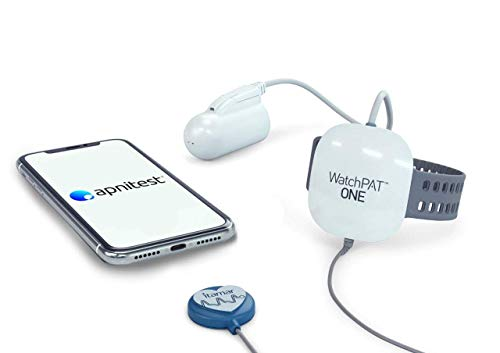 Home Sleep Apnea Test Diagnostic Machine (HSAT): At Home Sleep Study Kit by Apnitest. Tests The Need for A CPAP Or Other Sleep Solution