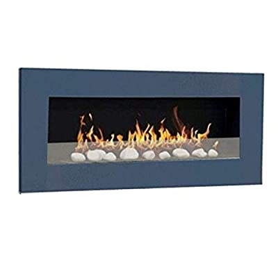 Ethanol & Gel Fuel Fireplace Fireside Model XXL Design + free 24 decorative stones