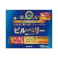 【ウエルネスジャパン】ビルベリー200MAX 120カプセル ×5個セット