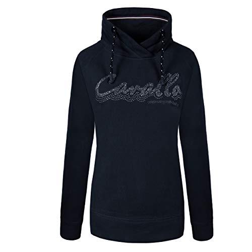 Cavallo ORLINDA dames buishals trui donkerblauw AW 19, Ca19_HW_Gr. :42