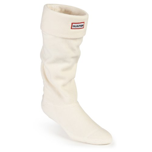 Hunter Boots Calcetines Welly Socks de forro polar para botas de agua - beige - XL