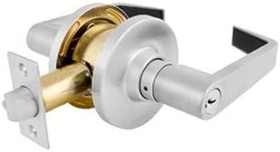 Master Lock SLC126DKA4 Commercial Entry Lever Lockset, Satin Chrome