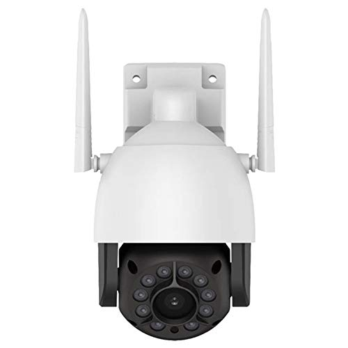 Andifany 5 Millones de Intercomunicador de Voz de Cámara de Red de Vigilancia Domo de Red Inalámbrica Hd Impermeable al Aire Libre de 2K (Enchufe de la Ue)
