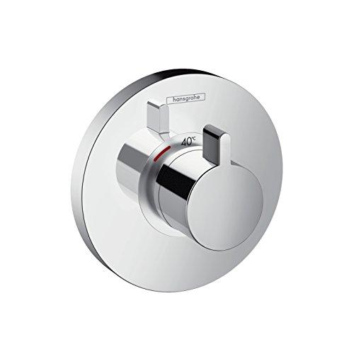 hansgrohe ShowerSelect S Unterputz Highflow Thermostat, für 1 Funktion, Chrom