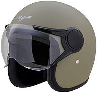Vega Jet Open Face Helmet (Dull Desert Storm, L (60 cm))