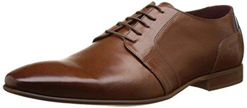 Redskins BUISAL, Zapatos de Cordones Derby Hombre, Marrón (Cognac+Marine 2P), 45 EU