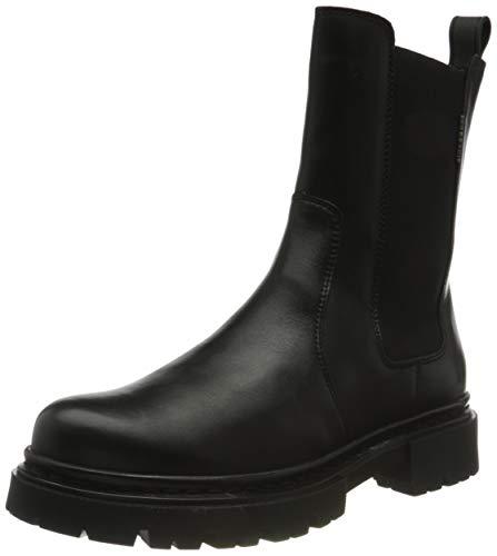 BULLBOXER 610507E6L Damen Stiefelette Größe 39 EU Schwarz (schwarz)
