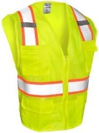 Super intense SALE OFFicial store ML Kishigo 1195 Ultra-Cool Mesh 6-Pocket Li - Vest Yellow Safety