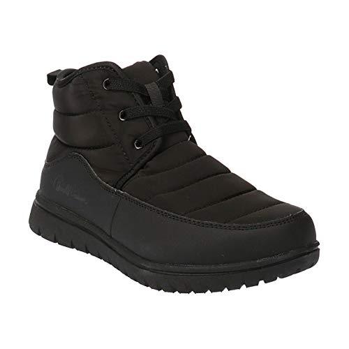[アーノルドパーマー] AL7553 スニーカー ブーツ レディース オールブラック ・ キャメル 22.5cm〜25.0cm 防水 撥水 抗菌 防臭 かわいい 歩きやすい カジュアルシューズ ブランド 靴 オールブラック 24.0cm